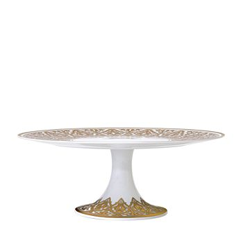 Bernardaud - Venise Footed Cake Platter
