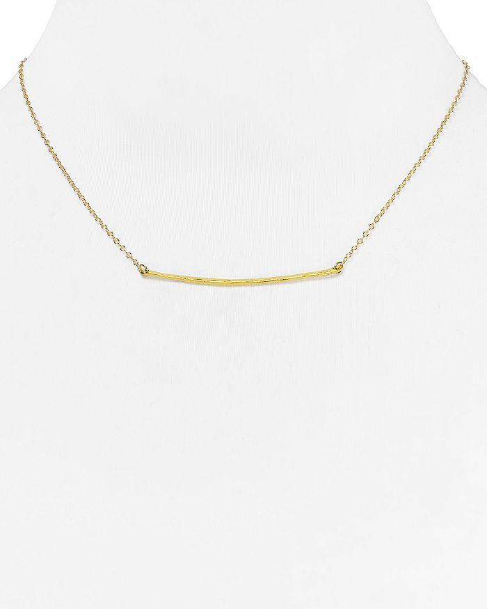 "Gorjana - Small Taner Bar Necklace, 16.75"""