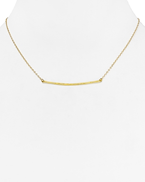 Gorjana Small Taner Bar Necklace, 16.75-Jewelry & Accessories