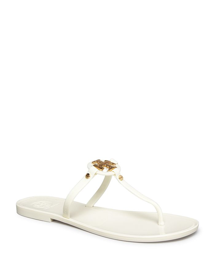 3b74e4666 Tory Burch - Women s Mini Miller Jelly Flat Thong Sandals