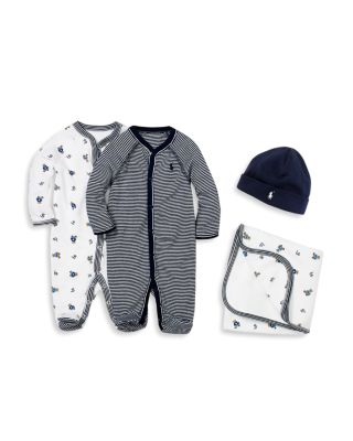 Boys' Layette Printed Footie - Baby