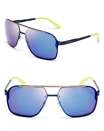 237f1ace1 Carrera Men's Mirrored Navigator Sunglasses   Bloomingdale's