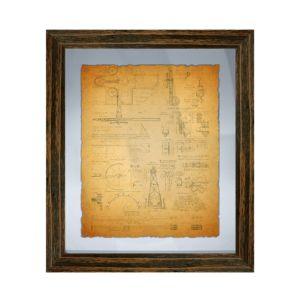 Ptm Images Vintage Planogram Wall Art