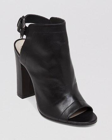 $VINCE CAMUTO Open Toe Booties - Vamelia High-Heel - Bloomingdale's