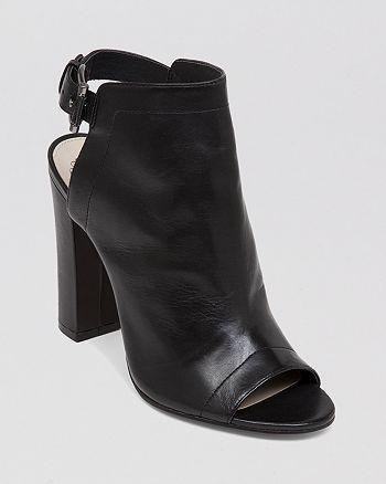VINCE CAMUTO - Open Toe Booties - Vamelia High-Heel
