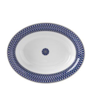 Royal Limoges Blue Star Open Vegetable Bowl