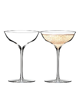 Waterford - Elegance Champagne Belle Coupe Glass, Pair