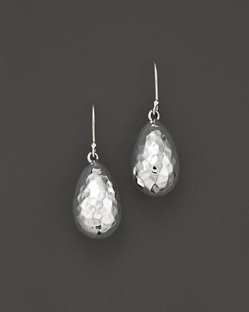 IPPOLITA - Sterling Silver Glamazon® Medium Raindrop Bead Earrings