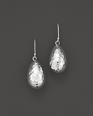 Ippolita Sterling Silver Glamazon Medium Raindrop Bead Earrings-Jewelry & Accessories