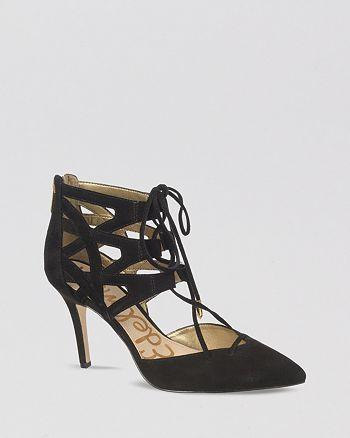 Sam Edelman - Pointed Toe Pumps - Zavier High-Heel