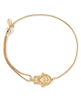Alex and Ani - Precious Metals Symbolic Hand of Fatima Pull Chain Bracelet