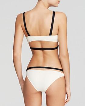 Vitamin A - Opposites Attract Olivia Bralette Bikini Top & Opposite Attract Olivia Hipster Bottom