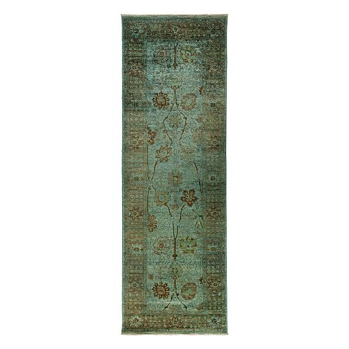 """Solo Rugs - Adina Collection Oriental Rug, 4'1"""" x 11'10"""""""