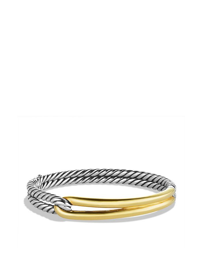 David Yurman - Labyrinth Single-Loop Bracelet with Gold