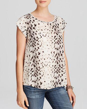 Joie - Rancher B Leopard Print Silk Top