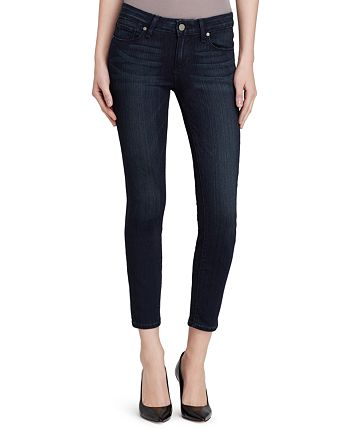 PAIGE - Transcend Verdugo Crop Jeans in Midlake