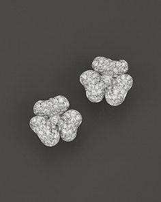 Diamond Flower Stud Earrings in 14K White Gold, 2.20 ct. t.w. - 100% Exclusive - Bloomingdale's_0