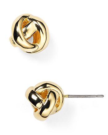 kate spade new york - Dainty Sparklers Knot Stud Earrings
