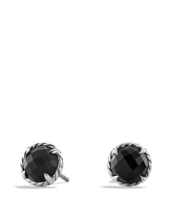 David Yurman - Châtelaine Earrings with Black Onyx