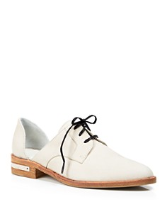 Freda Salvador - Women's D'Orsay Oxfords - Wit