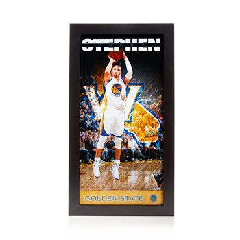 Steiner Sports - Stephen Curry Golden State Warriors Player Profile Wall Art