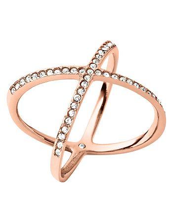 Michael Kors Pave X Ring Bloomingdale S