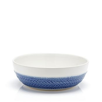 Juliska - Le Panier Blue Coupe Pasta Bowl