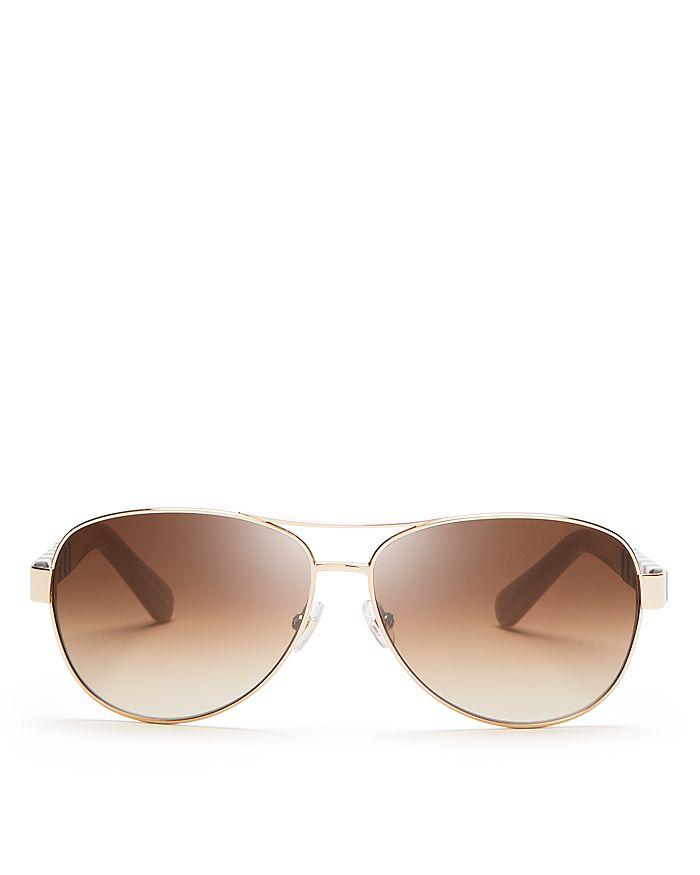 c5fe2d53509 kate spade new york - Women s Dalia Aviator Sunglasses