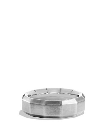 David Yurman - Faceted Metal Band Ring