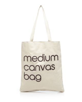 Medium Canvas Tote     100 Percents Exclusive by Bloomingdale's