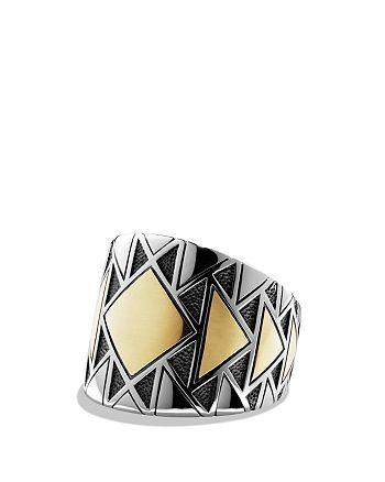 David Yurman - Signet Ring with Gold