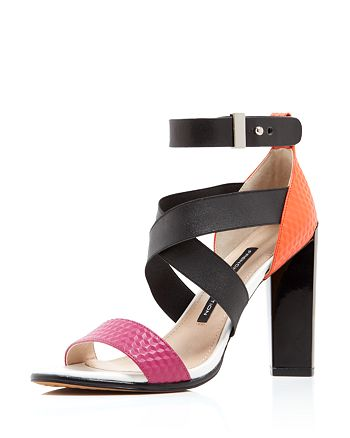 FRENCH CONNECTION - Sandals - Melody Multicolored High-Heel