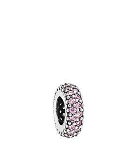 Pandora - Sterling Silver & Cubic Zirconia Pink Inspiration Within Spacer