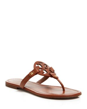 Tory Burch Women's Miller Leather Thong Sandals