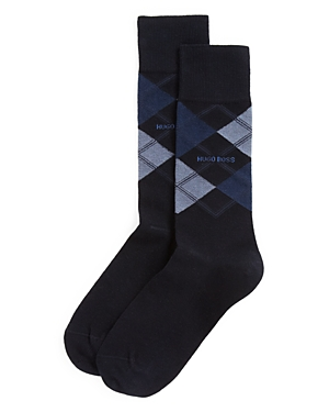 Boss Hugo Boss Combed Cotton Argyle Socks