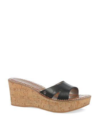89e089d58e8e Sam Edelman - Platform Wedge Slide Sandals - Reid