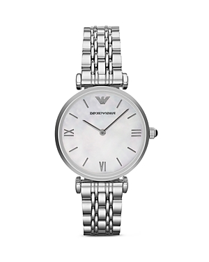 Emporio Armani Round Link Watch, 31mm