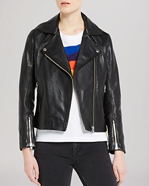 Sandro Jacket - Veinarde Leather Biker