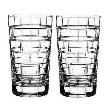 Rogaska - Quoin Highball Glass, Set of 2