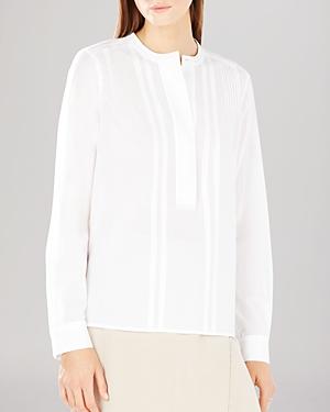 Bcbgmaxazria Shirt - Mirte Pintuck