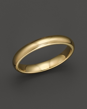 Click here for Men's 14K Yellow Gold Comfort Feel Wedding Band -... prices