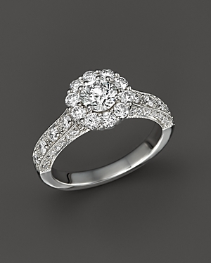 Click here for Diamond Engagement Ring in 14K White Gold  1.50 ct... prices