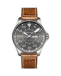 Hamilton Khaki Pilot Automatic Watch, 46mm - Bloomingdale's_0