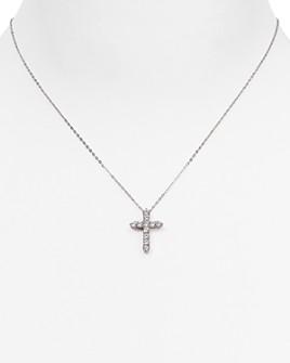 "Nadri - Cross Pendant Necklace, 16"""