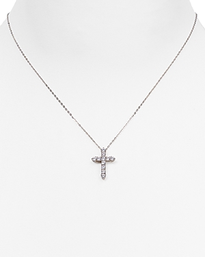 Nadri Cross Pendant Necklace, 16