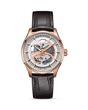 Hamilton - Hamilton Jazzmaster Viewmatic Skeleton Automatic Watch, 40mm
