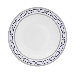 Vera Wang With Love Nouveau Indigo Rimmed Soup Plate