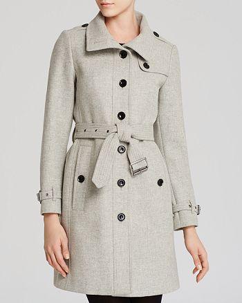 Burberry - Rushfield Wool Blend Coat