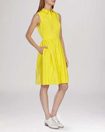 KAREN MILLEN - Dress - Colorful Shirt