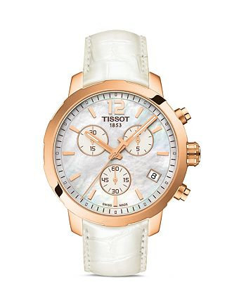Tissot - Quickster Women's Quartz Watch with Mother of Pearl Dial, 42mm
